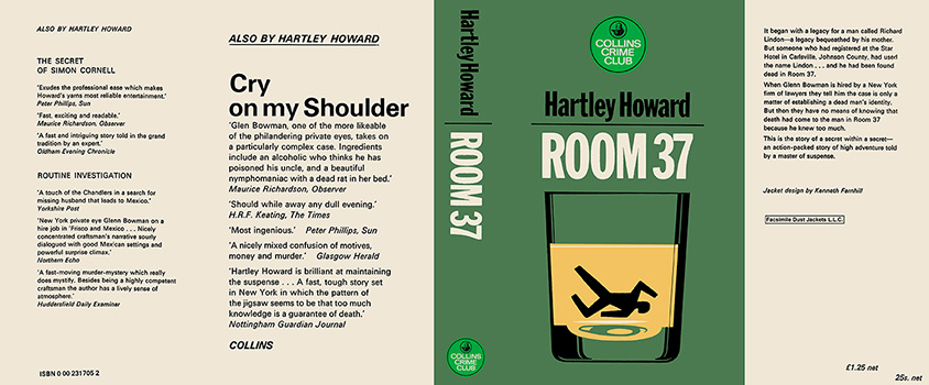 Room 37. Hartley Howard.