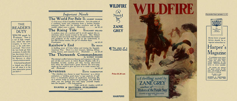 Wildfire. Zane Grey