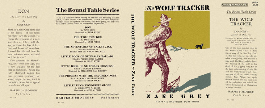 Wolf Tracker, The. Zane Grey