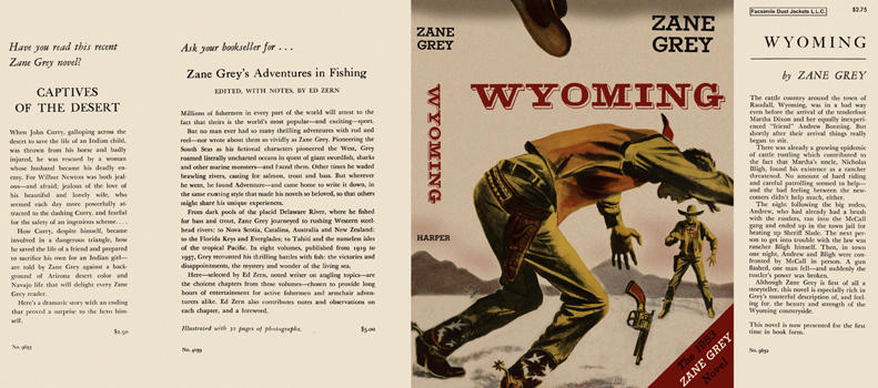 Wyoming. Zane Grey