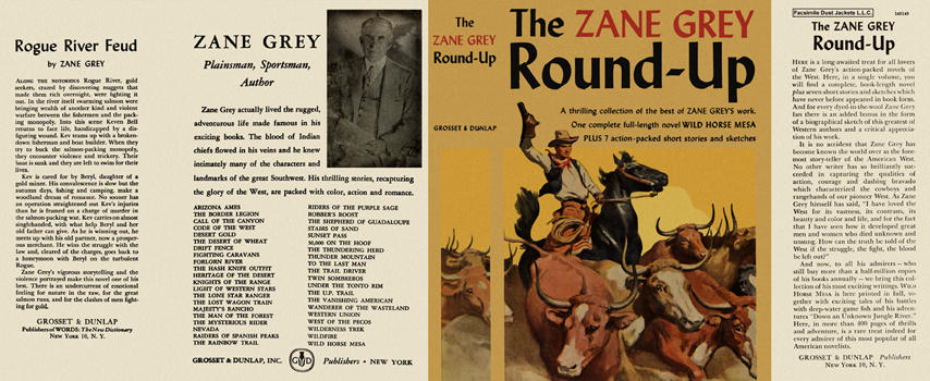 Zane Grey Round-Up, The. Zane Grey