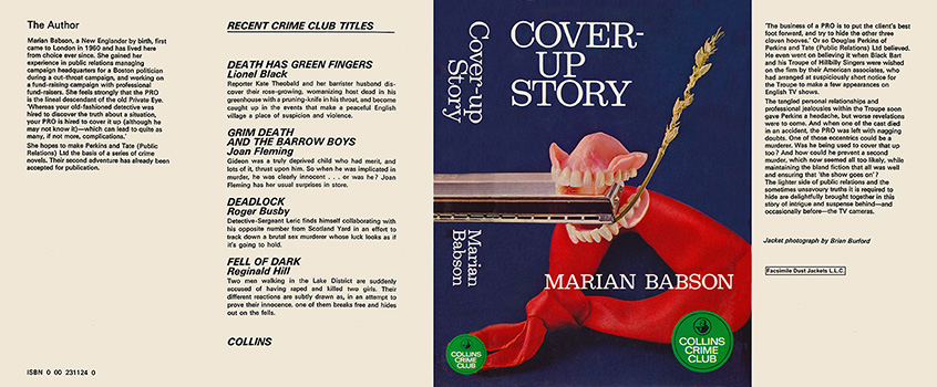 Cover-up Story. Marian Babson.