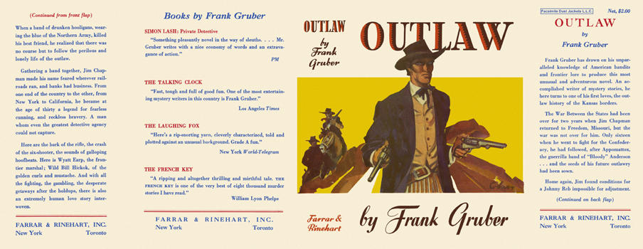 Outlaw. Frank Gruber