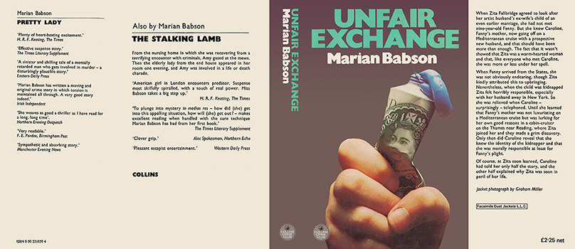 Unfair Exchange. Marian Babson
