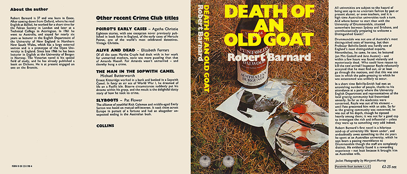 Death of an Old Goat. Robert Barnard.