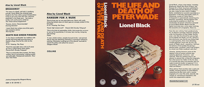 Life and Death of Peter Wade, The. Lionel Black