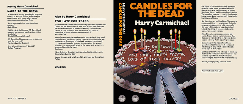 Candles for the Dead. Harry Carmichael.