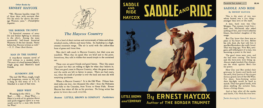 Saddle and Ride. Ernest Haycox