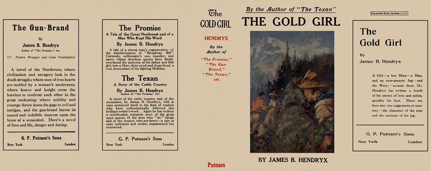 Gold Girl, The. James B. Hendryx