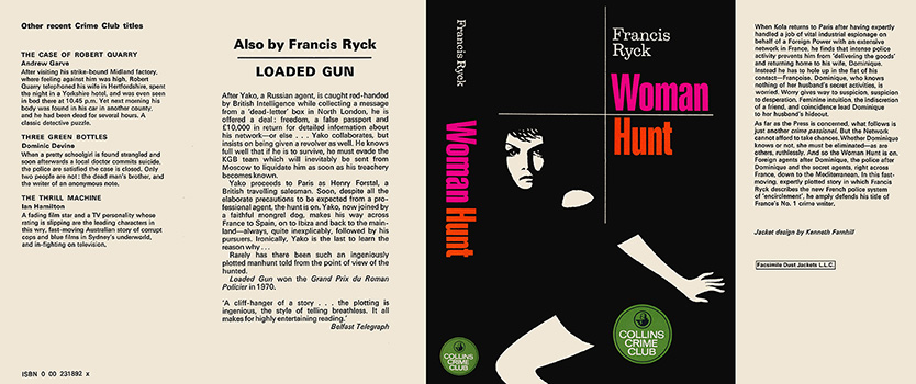 Woman Hunt. Francis Ryck.