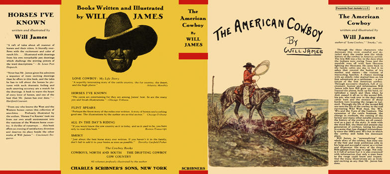 American Cowboy, The. Will James