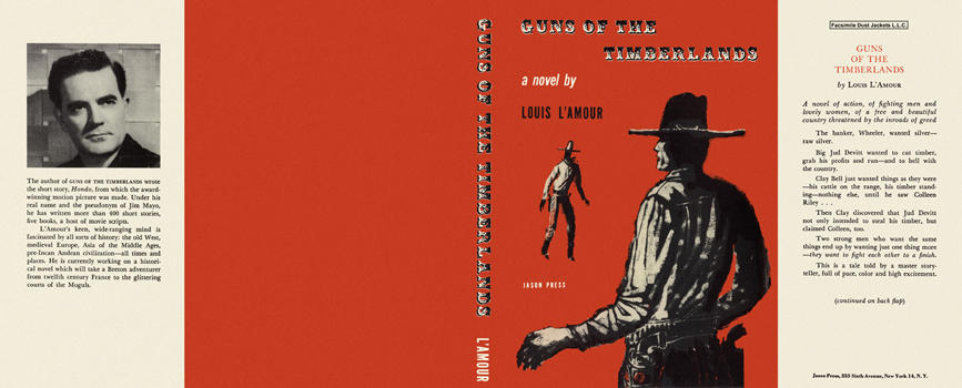 Guns of the Timberlands. Louis L'Amour