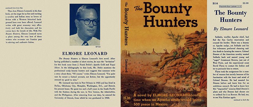 Bounty Hunters, The. Elmore Leonard