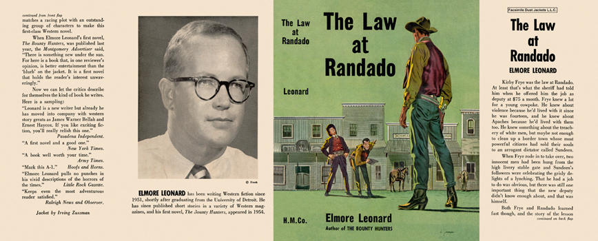 Law at Randado, The. Elmore Leonard