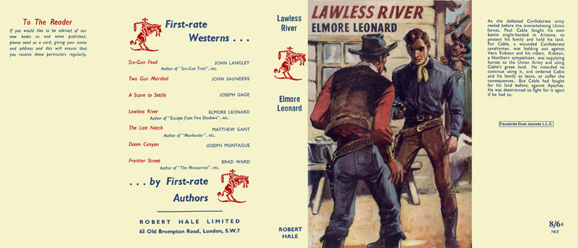 Lawless River. Elmore Leonard