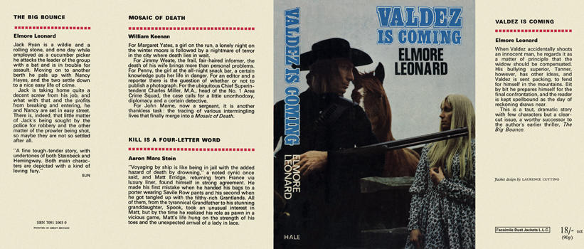 Valdez Is Coming. Elmore Leonard