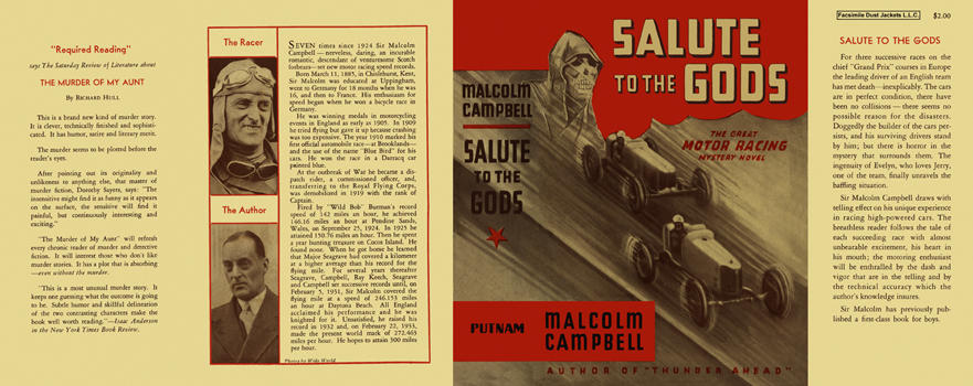 Salute to the Gods. Malcolm Campbell