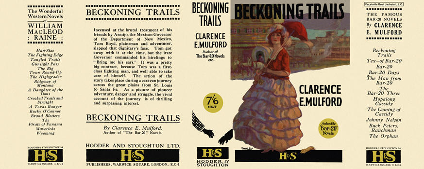 Beckoning Trails. Clarence E. Mulford