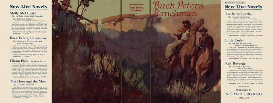 Buck Peters, Ranchman. Clarence E. Mulford