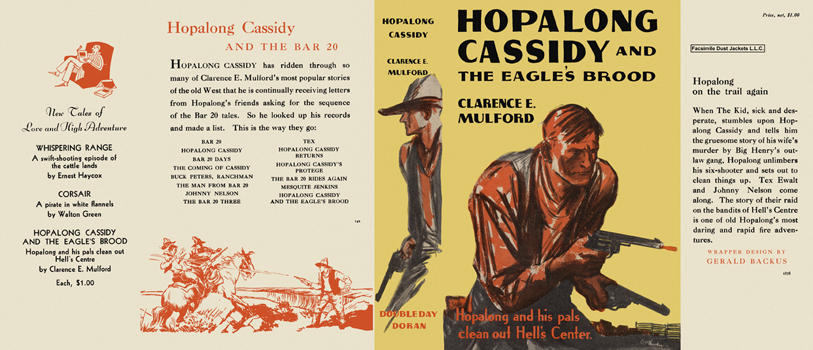 Hopalong Cassidy and the Eagles Brood. Clarence E. Mulford