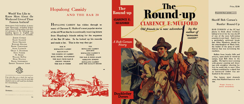 Round-Up, The. Clarence E. Mulford.