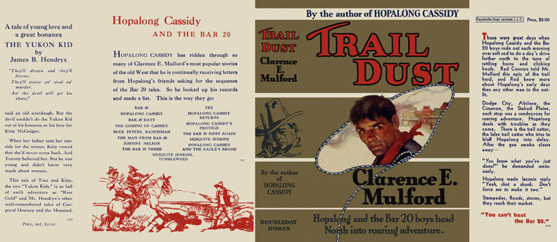 Trail Dust. Clarence E. Mulford