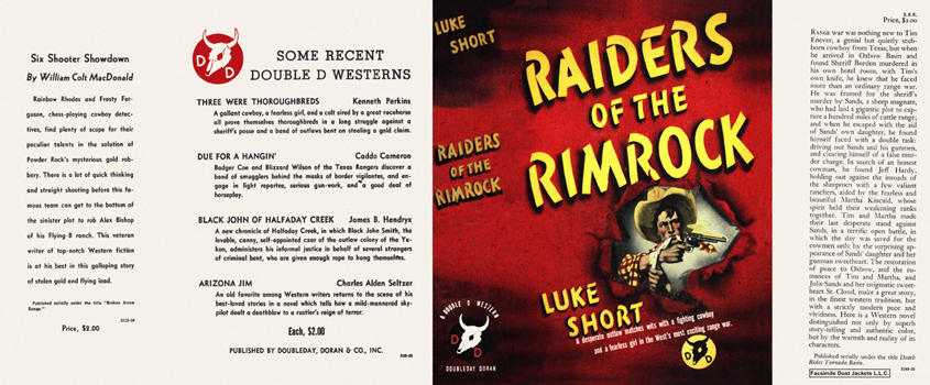 Raiders of the Rimrock. Luke Short