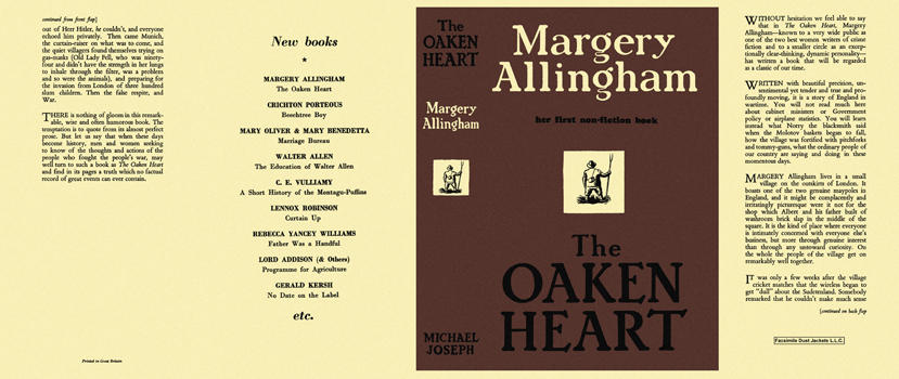 Oaken Heart, The. Margery Allingham