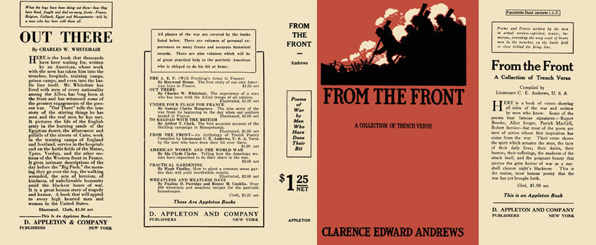 From the Front. Clarence Edward Andrews.