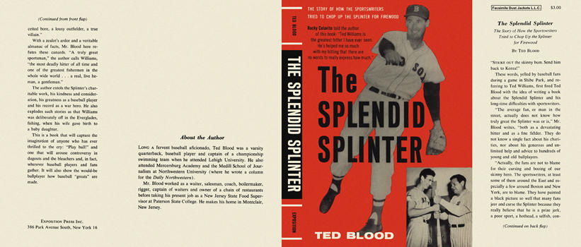 Splendid Splinter, The. Ted Blood.