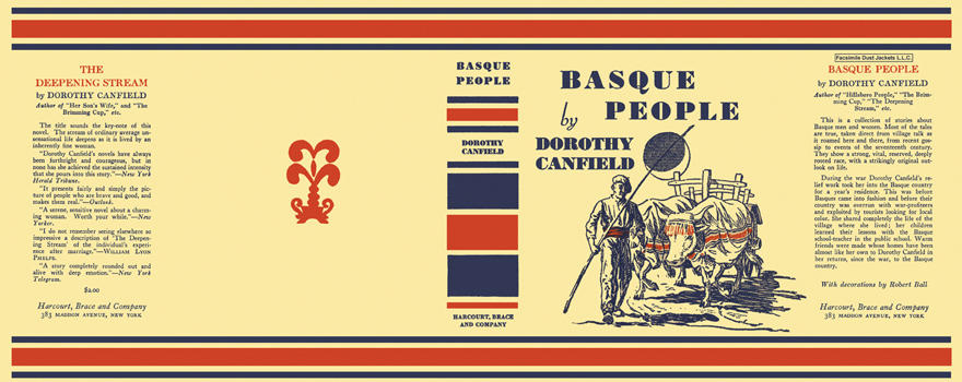 Basque People. Dorothy Canfield.