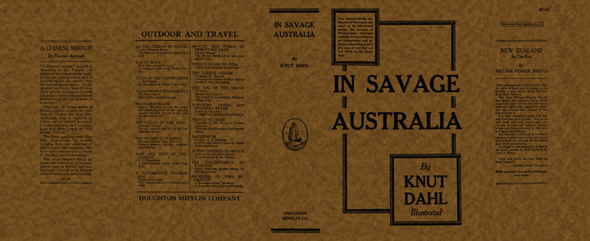 In Savage Australia. Knut Dahl.