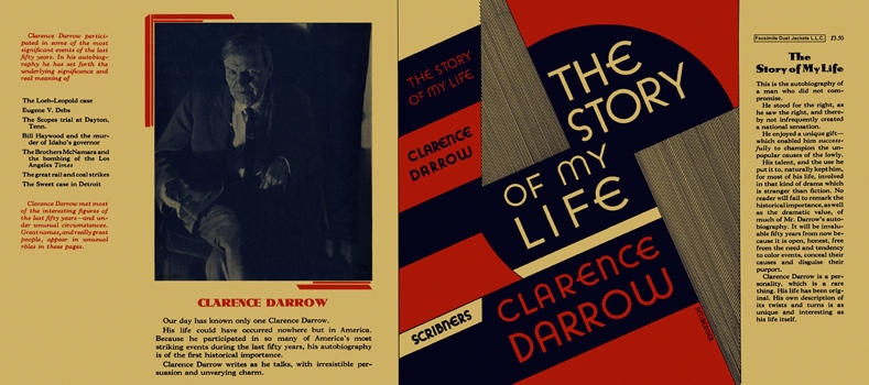 Story of My Life, The. Clarence Darrow