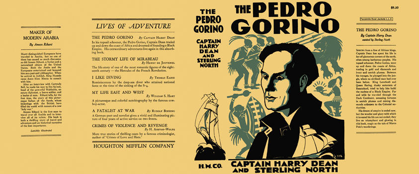 Pedro Gorino, The. Captain Harry Dean, Sterling North
