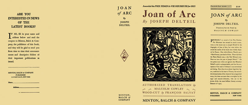 Joan of Arc. Joseph Delteil