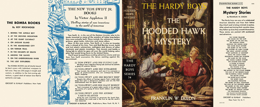 Hardy Boys #34: Hooded Hawk Mystery, The. Franklin W. Dixon.
