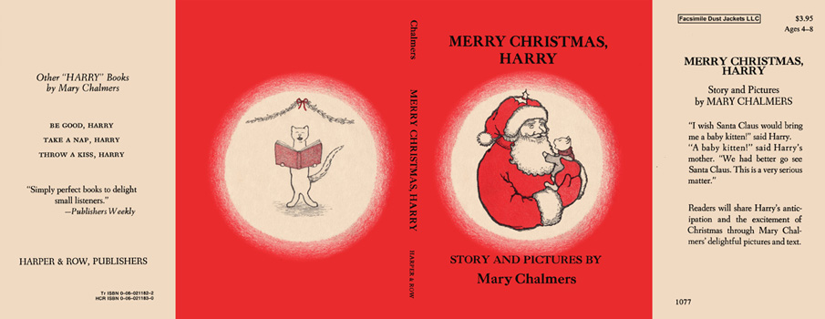 Merry Christmas, Harry. Mary Chalmers.