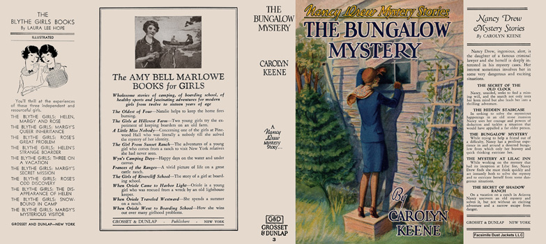 Nancy Drew #03: Bungalow Mystery, The. Carolyn Keene.