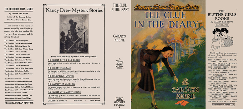 Nancy Drew #07: Clue in the Diary, The. Carolyn Keene.