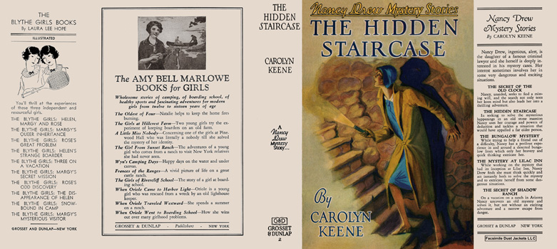 Nancy Drew #02: Hidden Staircase, The. Carolyn Keene.