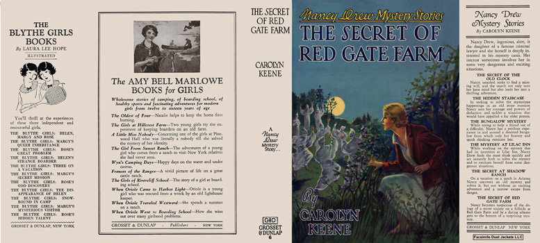 Nancy Drew #06: Secret of Red Gate Farm, The. Carolyn Keene.