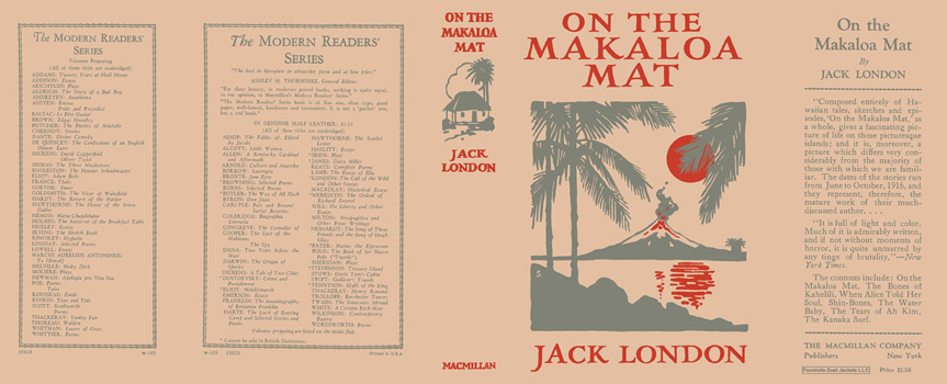On the Makaloa Mat. Jack London.