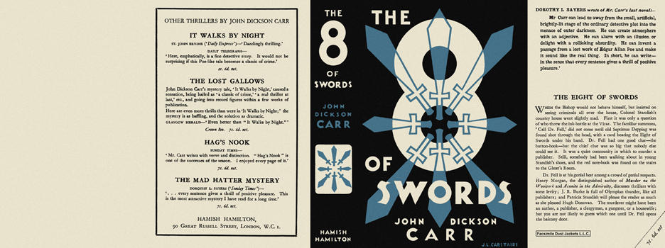 Eight of Swords, The. John Dickson Carr.