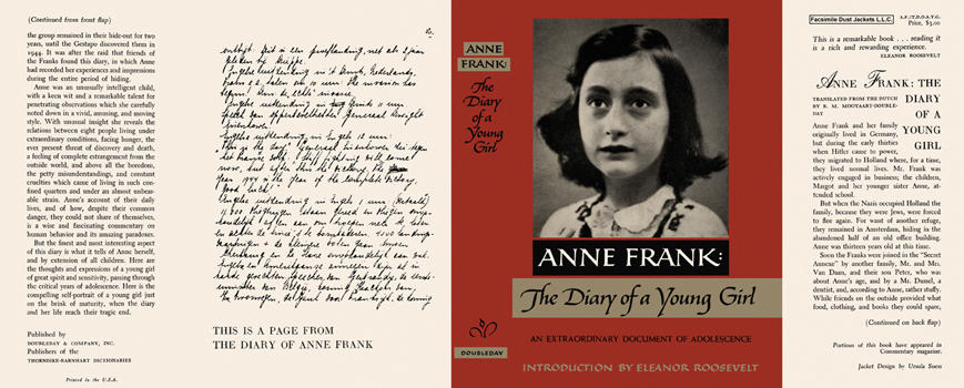Anne Frank, The Diary of a Young Girl. Anne Frank.