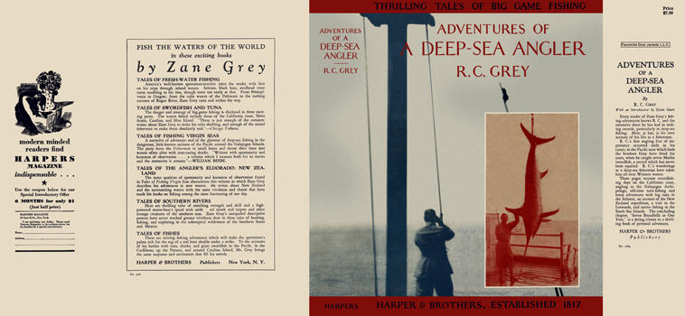 Adventures of a Deep-Sea Angler. R. C. Grey.