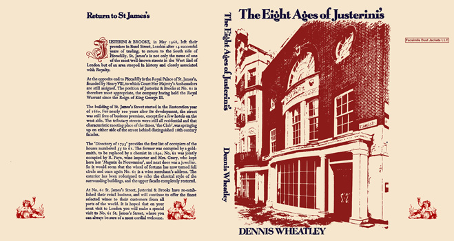 Eight Ages of Justerini's, The. Dennis Wheatley
