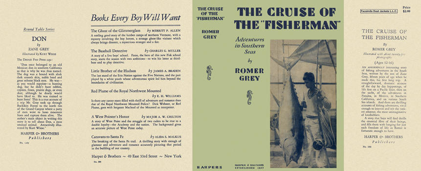 Cruise of the Fisherman, The. Romer Grey.