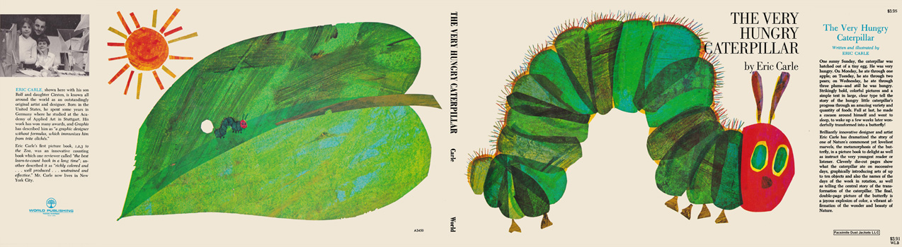 Very Hungry Caterpillar, The. Eric Carle
