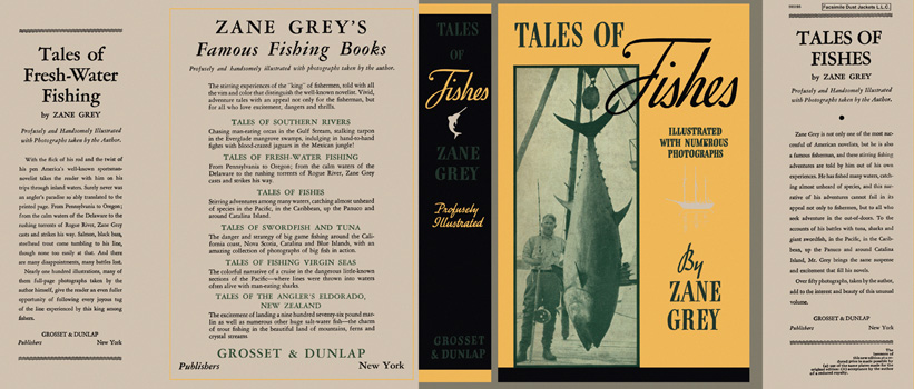 Tales of Fishes. Zane Grey.