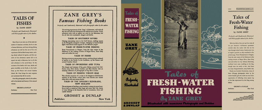 Tales of Fresh-Water Fishing. Zane Grey.